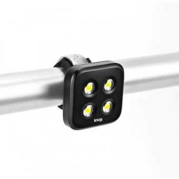 Knog Blinder 4 USB Front Light - Front, Black