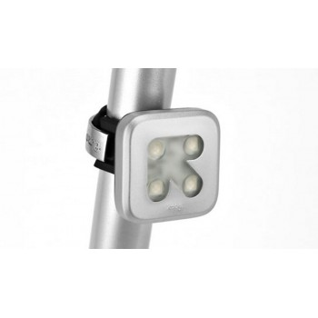 Knog Blinder 4 USB Front Light - Left Arrow, Silver