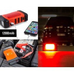Rescue Frog Jump Start Kit with Hazard Lights, LED Torch and USB Charging Port